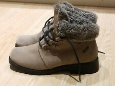 Sporto Insulated Ankle Boots 8.5. M Tan Faux Fur See Pics