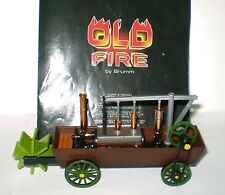 anfibio di EVANS 1804 in scala 1:43 OLD FIRE BY BRUMM