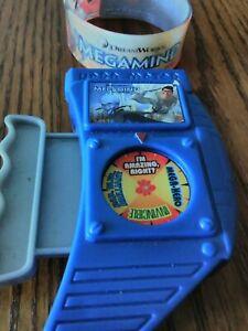 Megamind Toy Lot DreamWorks Kids Meal Toys Hardee's 2010 Bracelet Hero Meter