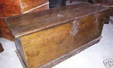 Cassapanca legno noce serrature antiche - Spagna - '600