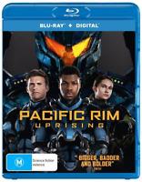 Pacific Rim - Uprising (Blu-ray, 2018) NEW
