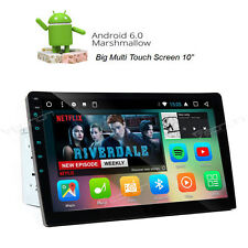 "Double 2Din 10.1"" Android 6.0 Car Stereo Radio GPS 4Core 1GB RAM RDS MP3 player"