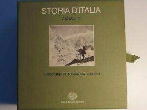 Storia d'Italia - Annali 2, L'immagine fotografica 1845-1945 cofanetto 2 volumi