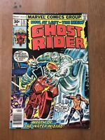GHOST RIDER #23 VG, Water Wizard, Marvel Comics 1977