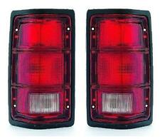 88 89 90 91 92 93 94 95 96 Dodge Dakota Taillight Pair Set Both NEW Black trim