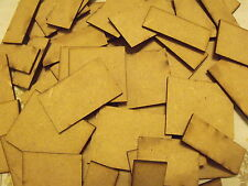 Square Bases for warhammer 40k, wargames, table top games .MDF wood, warmachine