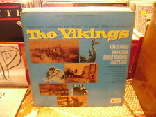 The VIKINGS Soundtrack vinyl LP VG+ United Artists 1959 Stereo Mario Nascimbe