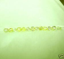 3.02 Carats 9 RARE Raw  Natural Uncut ROUGH DIAMONDS Gems YELLOW Clean Dodecs