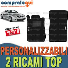 PER MERCEDES BENZ CLASSE SLK (R171) TAPPETINI per AUTO su MISURA + 2 RICAMI TOP