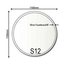Glasbodenplatte S12 Bodenplatte Kaminplatte 1100 mm Rund Neu Funkenschutz Ofen