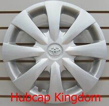 NEW 2009-2013 TOYOTA COROLLA Hubcap Wheelcover OEM Silver Emblem 42621-02140
