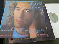 ROBIN GIBB Walls Have Eyes NM LP bee gees RARE oop 1985 vinyl scarce!!