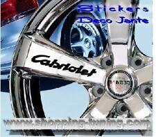 8 STICKER AUTOCOLLANT LOGO JANTE PEUGEOT 206 207 307 CC