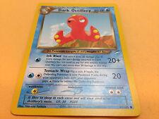 Pokemon TCG - Dark Octillery 62/105 Neo Destiny Unlimited Common Card Mint