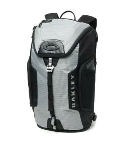 New Mens Oakley Link Pack Backpack Stone Grey / Black Outdoors Travel School