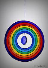 Rainbow circle suncatcher mobile FREE Shipping