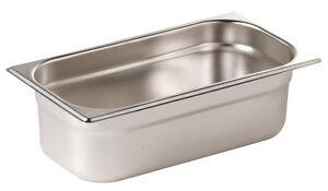 Gastronomie GN Behälter 1/3 Gastronorm alle Tiefen 20 - 200 mm Edelstahl behälte