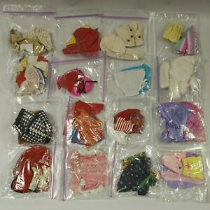 """Huge Lot of Mixed Doll Clothes Mostly for 12"""" for Barbie & Fashion Dolls"""