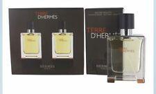Hermes terre d'hermes 2 X 50ml EDT SPRAY GIFT SET - Brand New & Boxed
