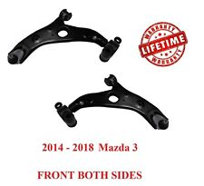 2 FRONT LOWER CONTROL ARM BALL JOINT LEFT RIGHT SET FOR 2014-2018 Mazda 3 14-18