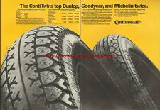 Continental ContiTwins Tyres Motorcycle 1981 Advert #767