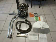 Vintage Filter Queen D31X Vacuum With Attachments, Filters and Instructions