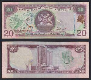 Trinidad and Tobago 20 dollars 2006 BB/VF  C-09