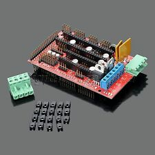 3D Printer Controller Shield Board For RAMPS 1.4 Reprap Prusa Mendel New