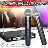 VHF Wireless Dynamic Microphone System 2 Kanäle Handheld KTV Mic mit 1