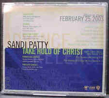 SANDI PATTY TAKE HOLD OF CHRIST CD MINT UNPLAYED