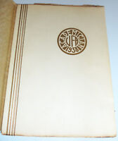 Utica Free Academy Yearbook 1938 High School Academician HS NY New York