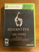 Resident Evil 6 Archives (Microsoft Xbox 360, 2012) Tested