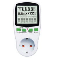 Electricity Power Consumption Meter Energy Monitor Watt Kwh Analyzer 110-230V AC