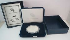 2012-W PROOF American Silver Eagle $1 Dollar Coin .999 Bullion US MINT BOX & COA