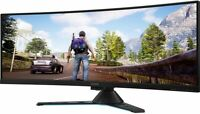 "Lenovo Legion 43.4"" DWUXGA Curved Screen LCD Monitor Certified Refurbished"