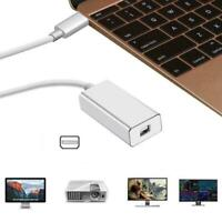Type USB C to DisplayPort Adapter 4K Thunderbolt 3 to DP Cable For MacBook USA