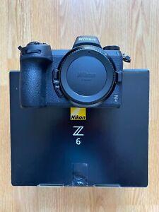 NIKON Z6 24.5MP MIRRORLESS CAMERA BODY ONLY NEW OPEN BOX