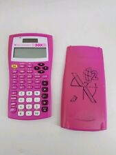 Texas Instruments Ti-30X Iis 2-Line Scientific Calculator Pink Solar Power Works