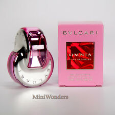 Bvlgari OMNIA PINK SAPPHIRE EDT 15 Ml VAPO Mini Perfume Miniature Bottle NIB