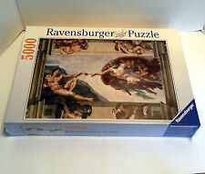 Ravensburger Michelangelo The Creation of Adam 5000 Piece Jigsaw Puzzle Sealed