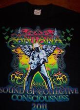 SANTANA SOUND OF COLLECTIVE CONSCIOUSNESS 2011 TOUR S.O.C.C. T-Shirt SMALL NEW