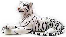 New Extra Large White Tiger Soft Cuddly Toy 150cm Soft Toy Plush Massive UK