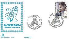 ITALIA REP. - 2002 - Centenario della nascita di Alfredo Binda su FDC Capitolium
