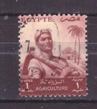 FRANCOBOLLI Egitto Egypt 1954-55 Serie Ordinaria 1 m. YV365
