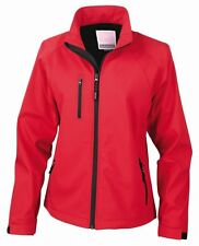 Result Ladies Soft Shell Jacket with Sport Mesh Inner Water Repellent Breathable