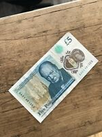 Rare £5 Note AA01..low serial