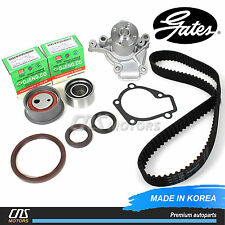 Gates Timing Belt Kit w/ Water Pump Fits 99-08 Hyundai Kia 2.0L DOHC G4GF