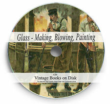 Glass Blowing Making Rare Antique Books on DVD Collecting Painting Learn How 34