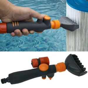 Unique Pool Spa Filter Cartridge Cleaner Wand Tub Cartridge Filter Cleaner Comb