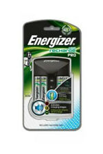 Energizer Pro Charger +4 x AA 2000mAh NiMH Rechargeable Batteries